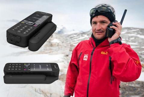 华之航为地质局提供海事卫星电话二代isatphone 2