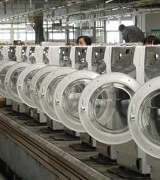 滚筒洗衣机生产线