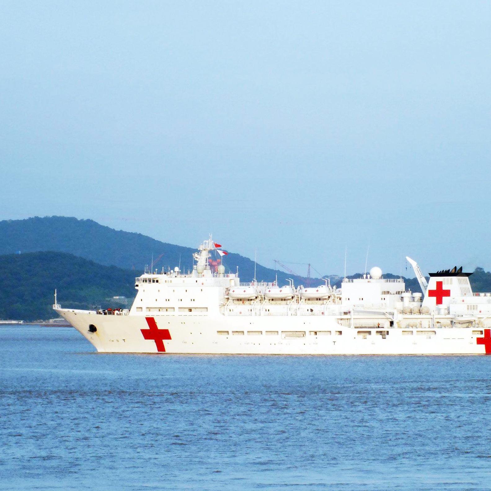 华之航为海南某国药集团提供Entel海事对讲机