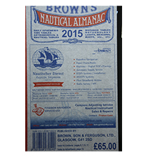 BROW001-15	Brown's Nautical Almanac