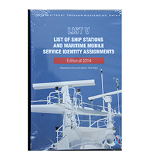 船台表 ITU05:ITU List V-List of Ship Stations and Maritime Mobile Service