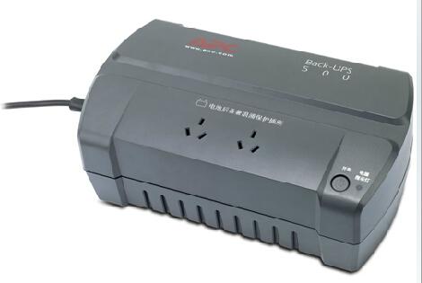 APC BK500-CH 500VA UPS不间断电源 防雷浪涌保护300W