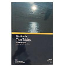 英版航海图书  潮汐表 NP201-206