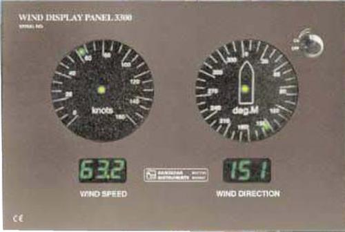 风向风速仪PANEL3400  ANEMOMETER