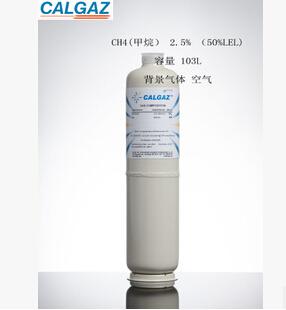 甲烷标准气体 6D 103L 2.5% CH4