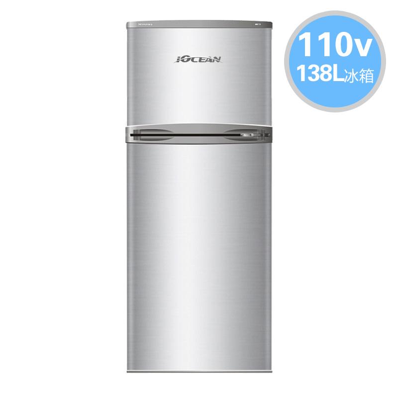 欧圣恩110V冰箱BCD-138 IOCEAN 138升