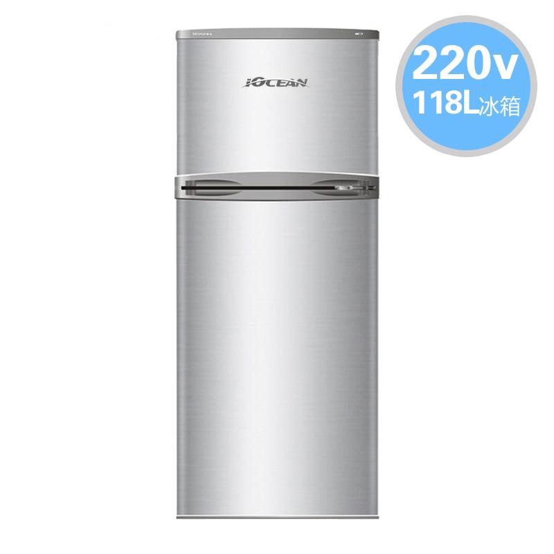 欧圣恩220V冰箱BCD-118 IOCEAN 118升