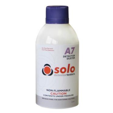 原装SOLO A7火警探测器 探头清洗喷剂