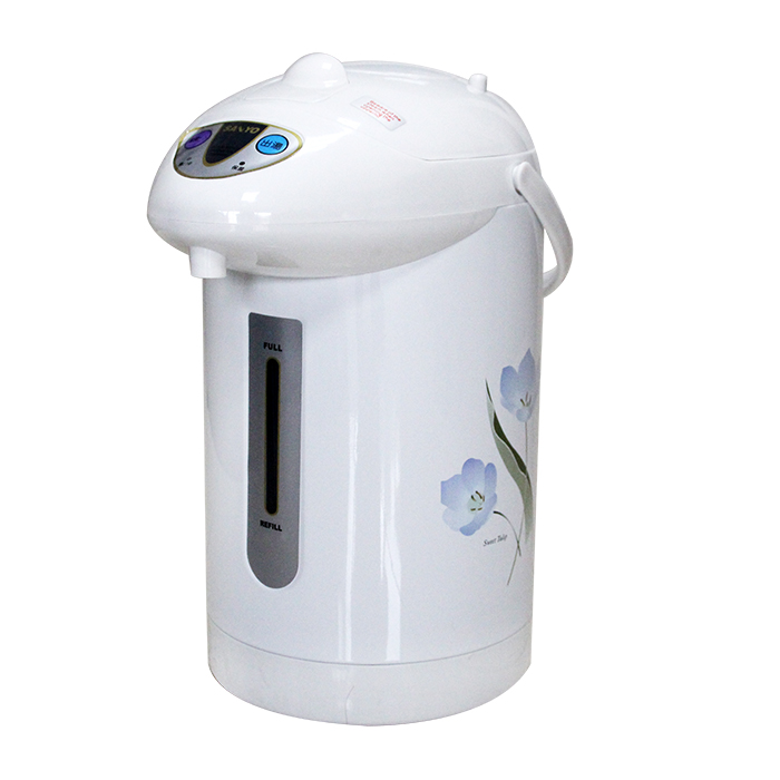 220V气压式热水瓶保温电烧水壶3L