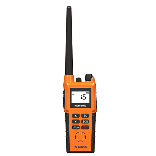 Mcmurdo马克默多双向无线电话R5船用救生对讲机