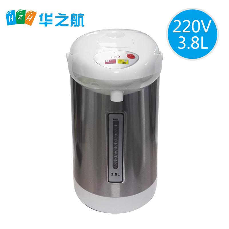 220v 60h电热水瓶保温船舶用气压式烧水电热水壶3.8L