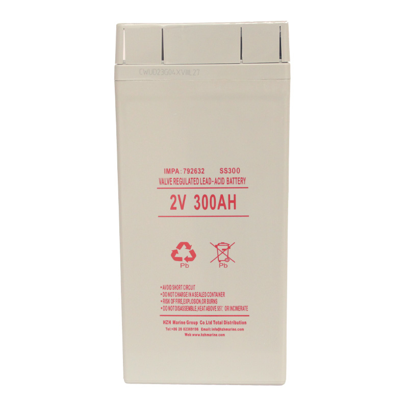 IMPA792632 LEAD-ACID MARINE BATTERY 2V300Ah 蓄电池SS300
