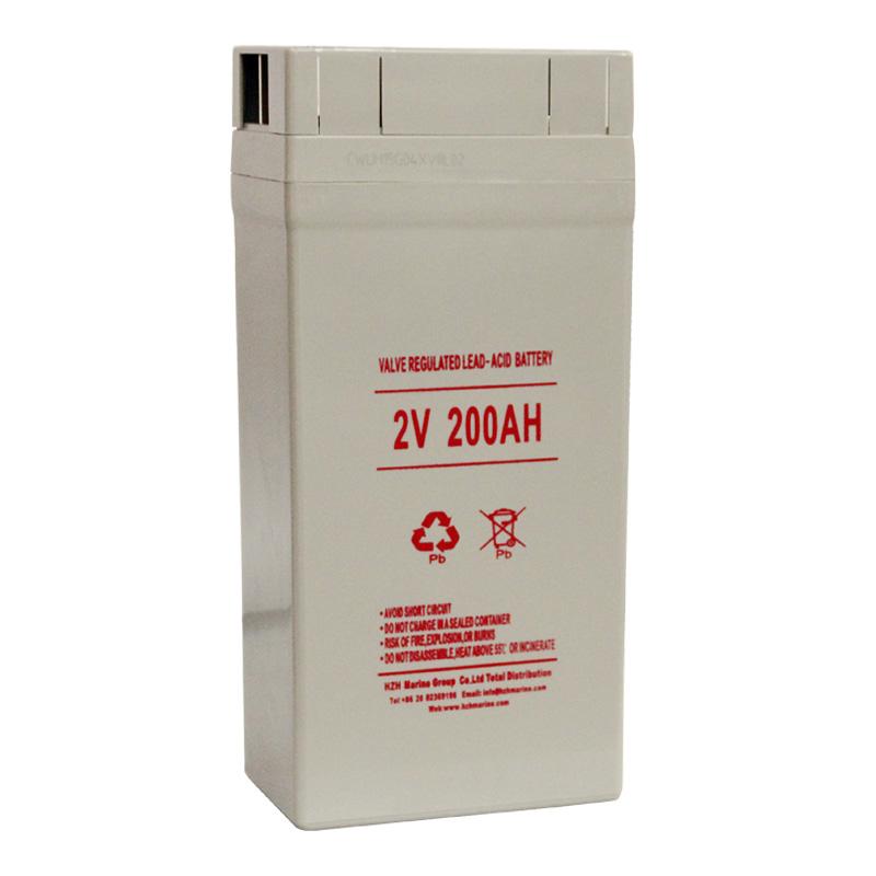 2V 200AH 船用电瓶SS200船用免维护铅酸蓄电池