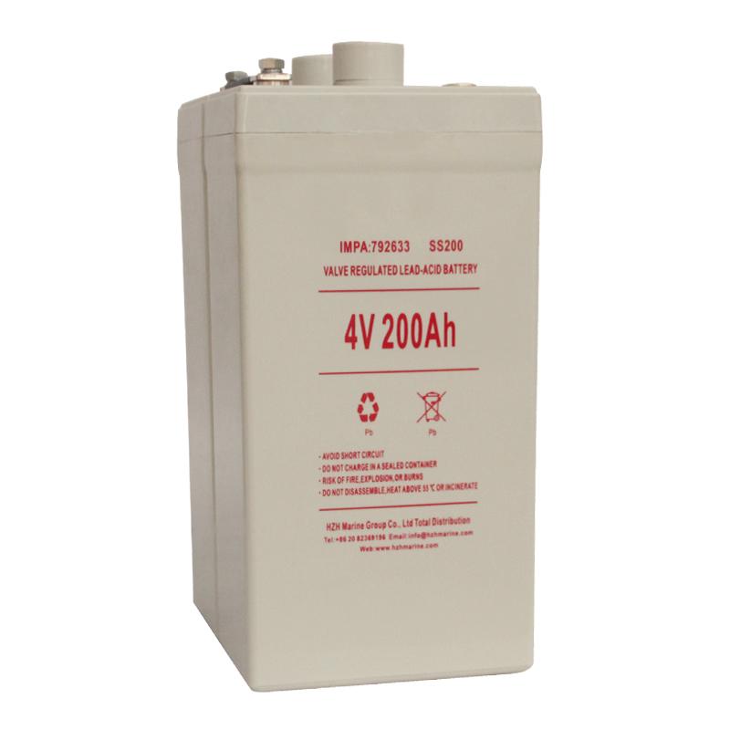 4V 200Ah 船舶用蓄电池