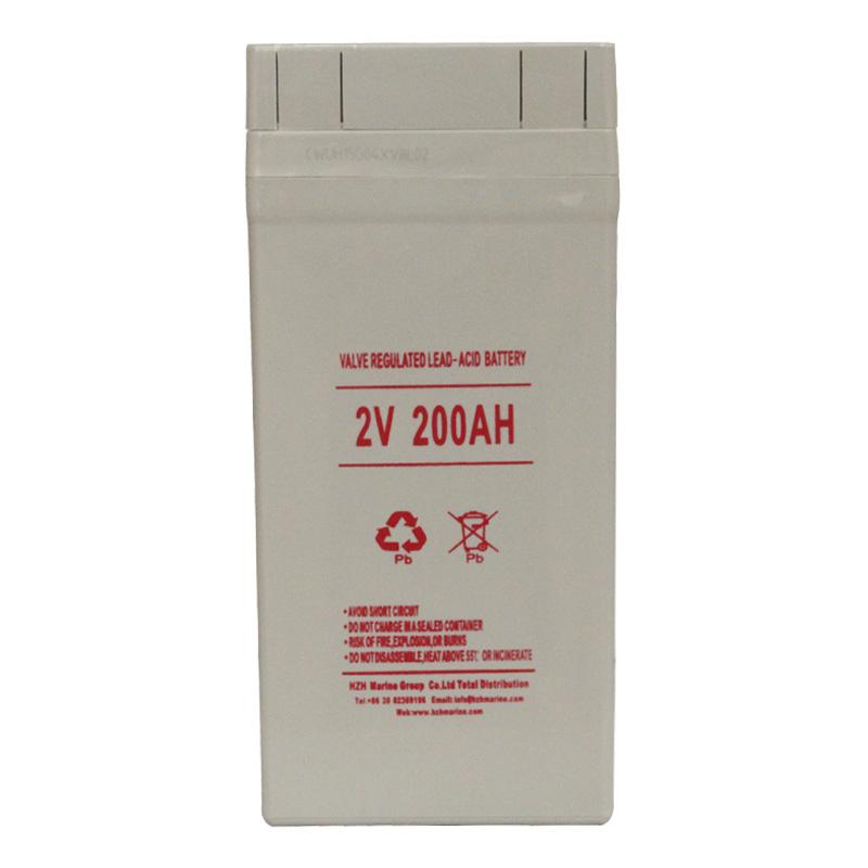 2v 200Ah 船用蓄电池