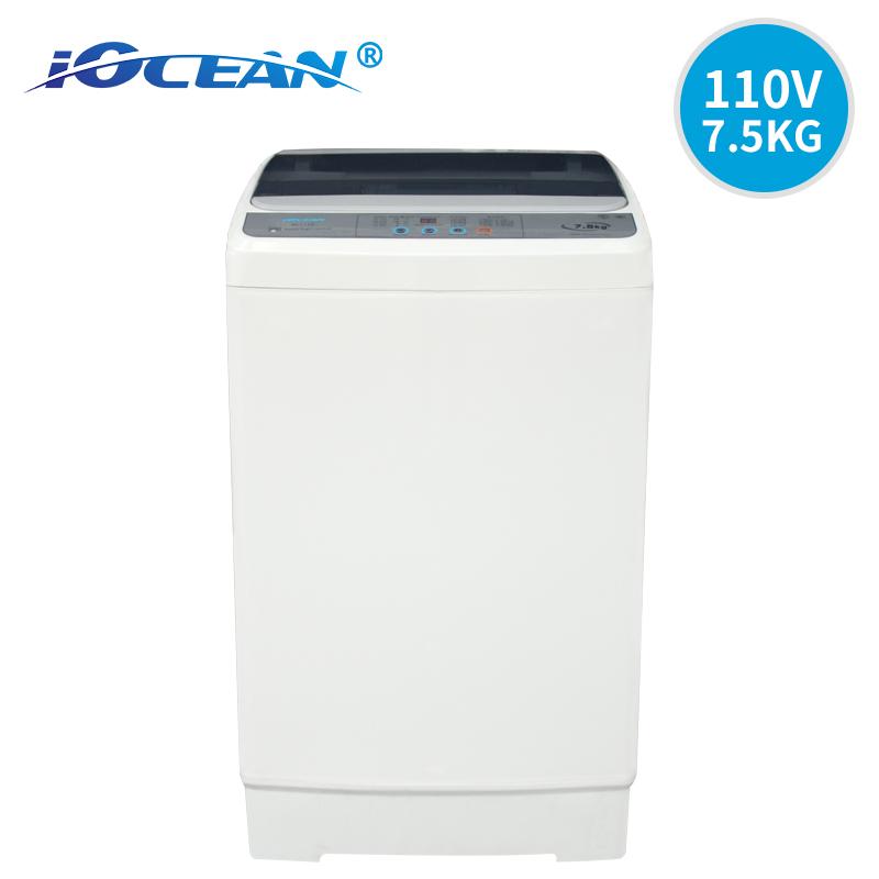 欧圣恩110V 60Hz全自动上门开洗衣机7.5KG OCF711