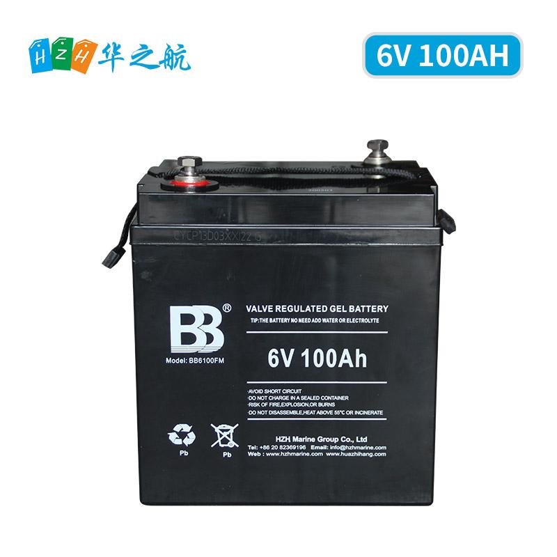 6V 100AH胶体铅酸蓄电池